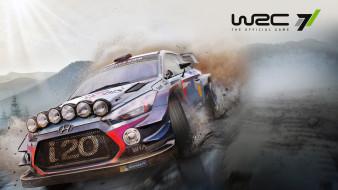 гонки, World Rally Championship 7, симулятор