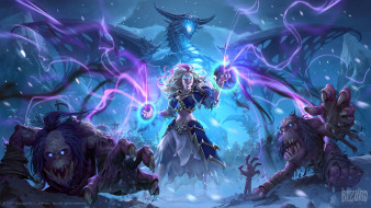 видео игры, hearthstone,  knights of the frozen throne, action, ролевая, knights, of, the, frozen, throne