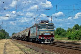 техника, электровозы, состав, локомотив
