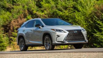 Lexus, 350, 2018, серебряный, металлик, RX, F-SPORT