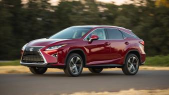 Lexus, RX-350, 2018, вишнёвый