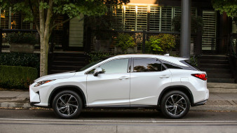 RX-350, 2018, белый, Lexus
