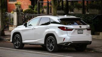 Lexus, RX-350, 2018, белый