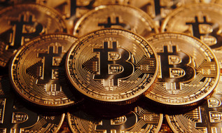 Crypto-currency, Bitcoin, Gold, Coin