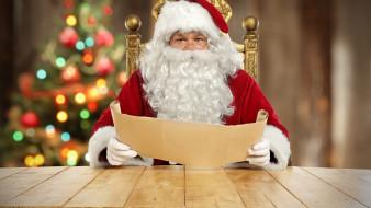 праздничные, дед мороз,  санта клаус, борода, очки, санта