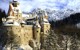bran castle, румыния, города, - дворцы,  замки,  крепости, bran, castle