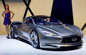 infiniti emerg-e concept 2012, автомобили, -авто с девушками, девушка, 2012, concept, emerg-e, infiniti