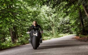 Vision, Next, 100, BMW, 2016, девушка, Motorrad