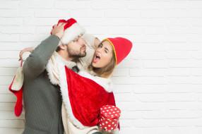 праздник, подарок, колпак