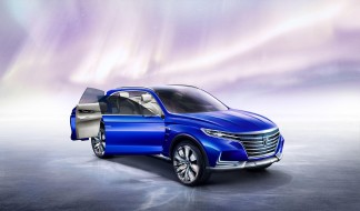 Roewe, Vision, E, Concept, 2017