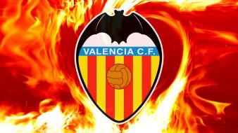 спорт, эмблемы клубов, sport, valencia, cf, football, logo