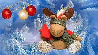 зима, праздик, новый год, игрушка