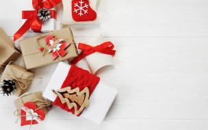 gift, Merry Christmas, подарки, Новый Год, Xmas, decoration, New Year, Рождество, wood, Christmas, украшения, happy