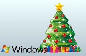 новый год, елка, украшения, праздник, фон