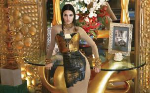 платье, модель, Kendall Jenner