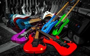обои для рабочего стола 2560x1600 музыка, -музыкальные инструменты, гитары