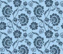 цветы, текстура, фон, орнамент, узор, винтаж