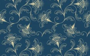 vector, вектор, flower, текстура, pattern, узор, орнамент, seamless, elegant, background