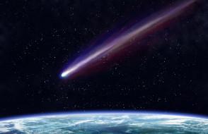 космос, кометы, метеориты, орбита, метеорит, земля, шлейф, полёт, вселенная, комета
