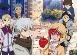 аниме, akagami no shirayukihime, персонажи
