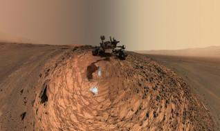 грунт, вид, вездеход, ландшафт, робот, пространство, спутник, планета, поверхность, пейзаж, марсоход, Mars