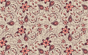 векторная графика, цветы , flowers, вектор, цветы, узор, орнамент