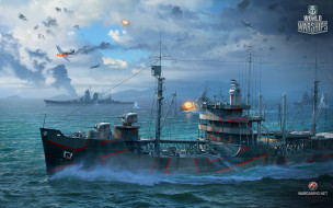 видео игры, world of warships, онлайн, action, симулятор, world, of, warships