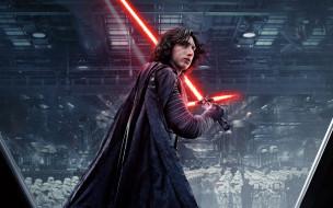 Kylo Ren, Star Wars, The Last Jedi, Adam Driver