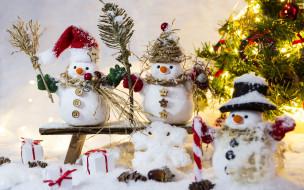snow, decoration, зима, снег