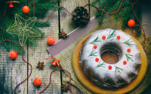cake, holiday celebration, Merry Christmas, украшения, Рождество, Новый Год, Xmas, happy, decoration, кекс, Christmas, New Year