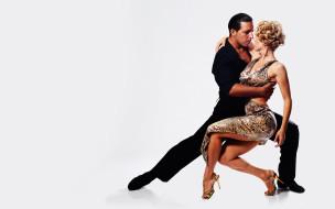 танго, танцоры