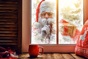 праздничные, дед мороз,  санта клаус, санта