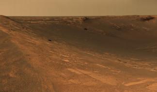 Mars, вид, пейзаж, поверхность, пространство, ландшафт, грунт, планета