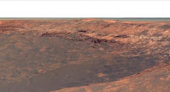 планета, пространство, грунт, ландшафт, Mars, вид, пейзаж, поверхность