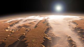 Mars, вид, пейзаж, поверхность, планета, ландшафт, грунт, пространство