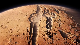 планета, поверхность, вид, пейзаж, Mars, грунт, ландшафт, пространство