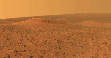 пространство, планета, пейзаж, вид, Mars, поверхность, грунт, ландшафт