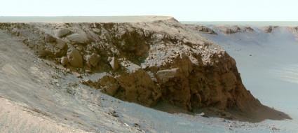 ландшафт, Mars, Victoria, crater, грунт, пространство, планета, поверхность