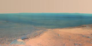 Victoria, Mars, грунт, пространство, планета, поверхность, crater, ландшафт
