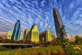 santiago,  chile, города, сантьяго , Чили, простор