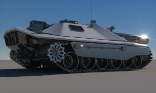 Tank, Concept, Sci-Fi, Future