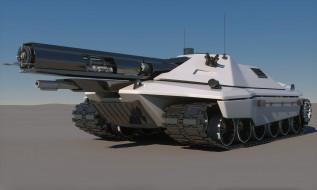 Future, Sci-Fi, Tank, Concept