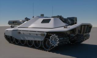 Concept, Tank, Future, Sci-Fi