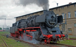 обои для рабочего стола 2048x1271 техника, паровозы, состав, локомотив