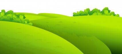 обои для рабочего стола 5000x2235 векторная графика, природа , nature, луг, лето, лес