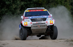 Car, Rally, Hilux, Toyota, 2012