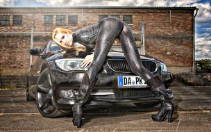 автомобили, -авто с девушками, bmw
