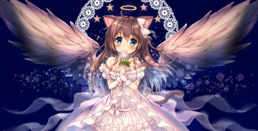 аниме, ангелы,  демоны, akabane, zebrasmise