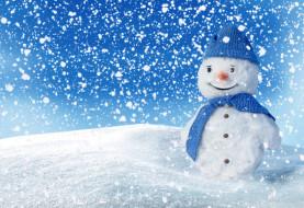обои для рабочего стола 4370x3000 праздничные, снеговики, снеговик