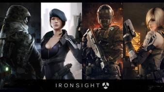 ironsight, видео игры, онлайн, шутер